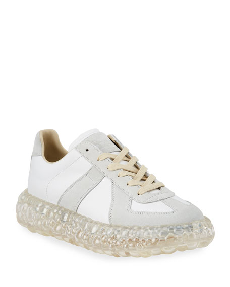 Maison Margiela Men's Replica Caviar Heel Sneakers