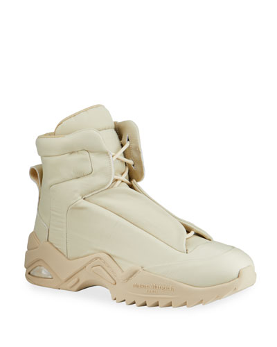 Men's New Future Tonal Puff High-Top Sneakers