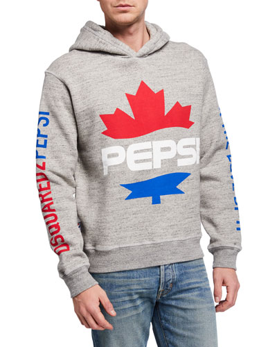 Men's x Pepsi Maple Leaf Graphic Hoodie