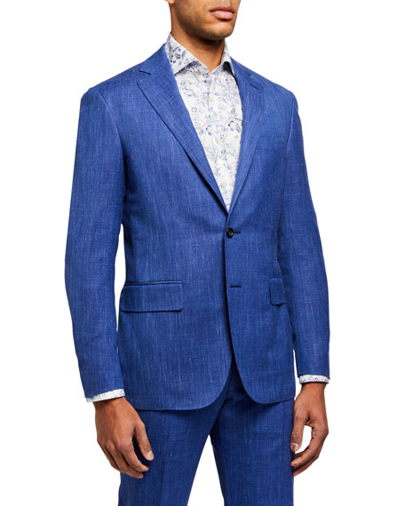 Canali Men's Heathered Two-Piece Suit