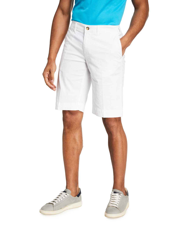 Men's Solid Knee-Length Walking Shorts