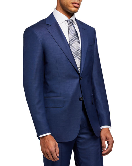Canali Men's Micro Tic Two-Piece Suit