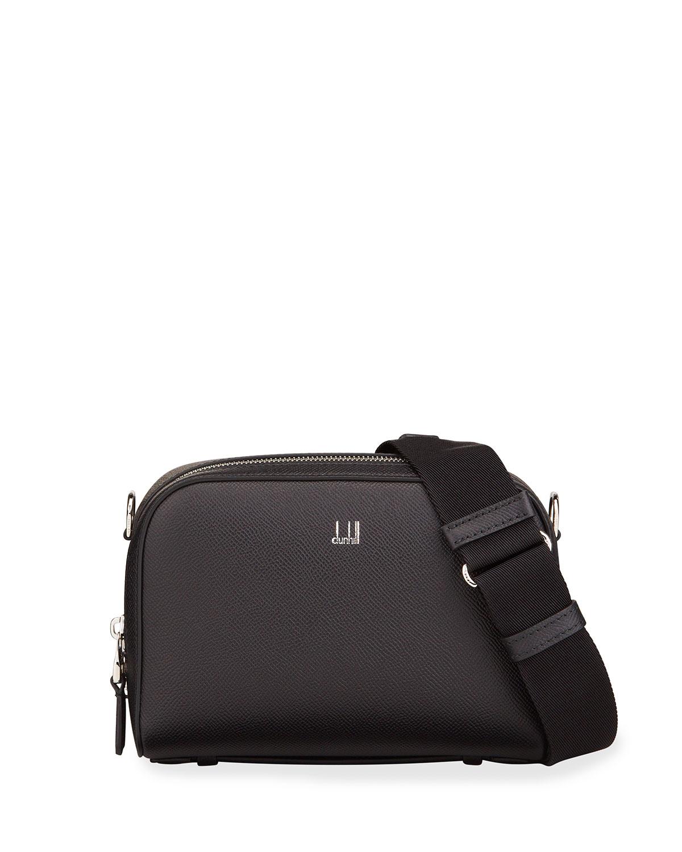 Cadogan Crosstown Leather Crossbody Bag