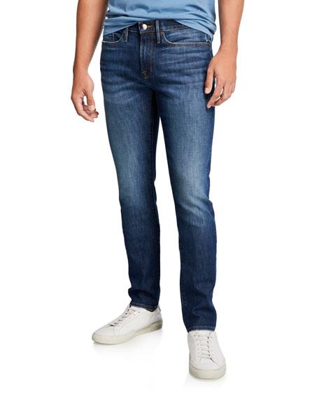 FRAME Men's L'Homme Skinny-Fit Denim Jeans