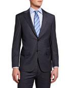 Canali Men's Check Two-Piece Suit