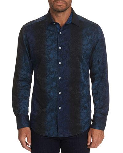 Men's Transmission Contrast-Reverse Sport Shirt