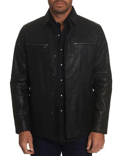 Men's Kevlar Lamb Leather Jacket