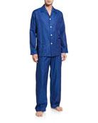 Derek Rose Men's Paris 17 Tonal Floral Pajama