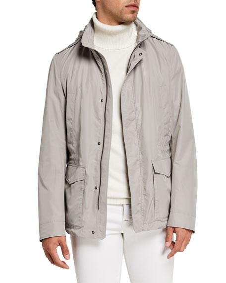 Herno Men's Tech-Twill Field Jacket