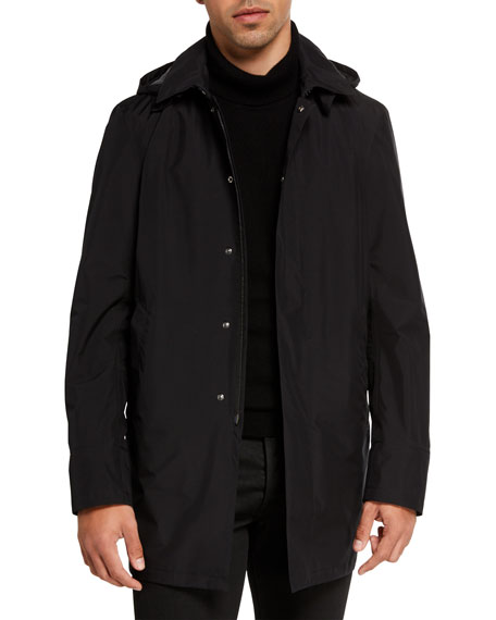 Herno Men's City Solid Trench Coat