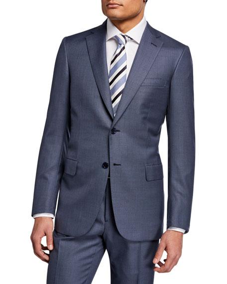 Brioni Men's Solid Wool Two-Piece Suit