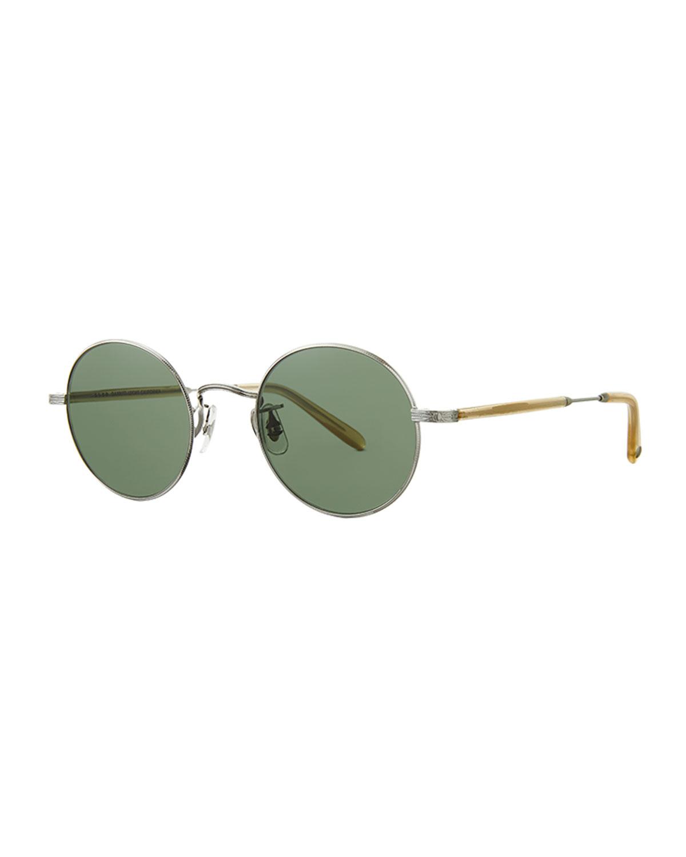 Men's Lovers 46 Round Sunglasses