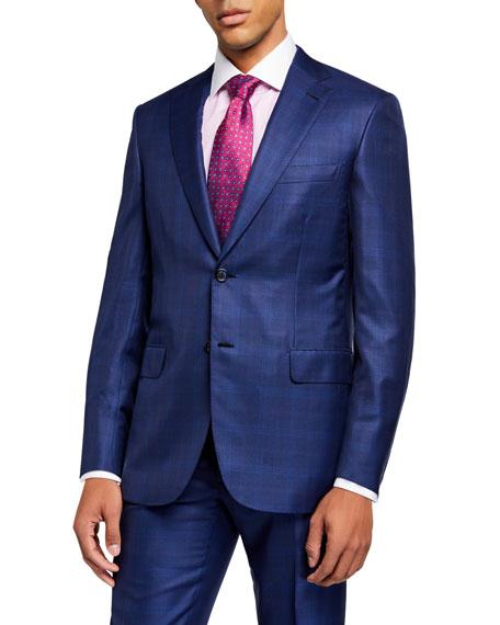 Brioni Men's Plaid Two-Piece Suit
