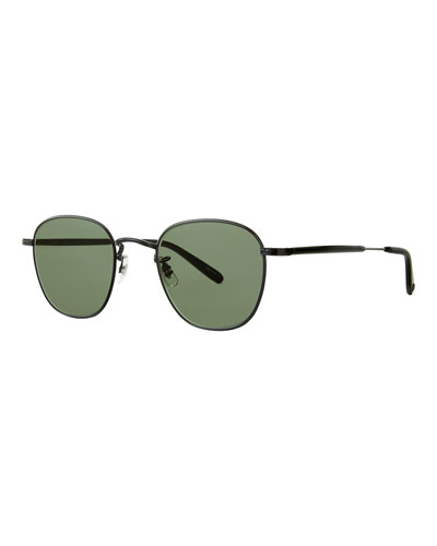 Men's World 49 Metal Sunglasses