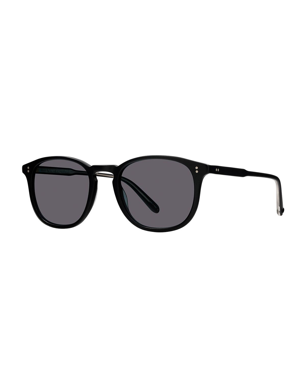 Men's Kinney 49 Matte Semi-Flat Acetate Sunglasses