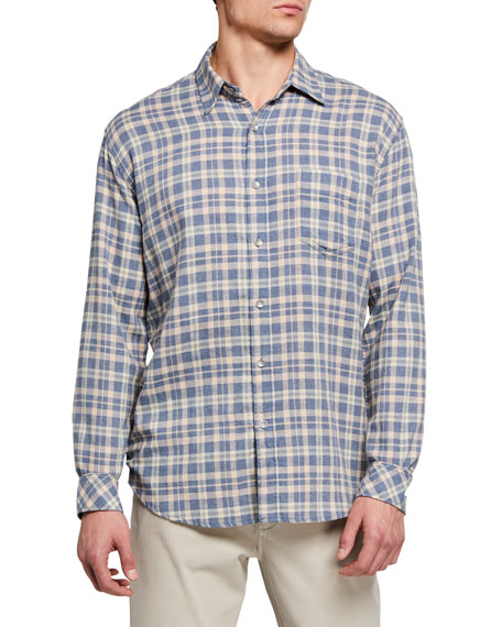 Rails Men's Wyatt Plaid Cotton Sport Shirt