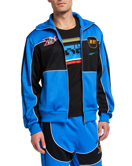 Puma Men's x Rhude Chest-Stripe Track Jacket
