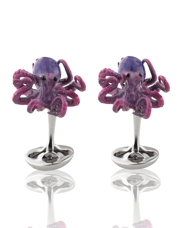 Sixteen Legs Octopus Cufflinks