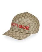 Gucci Men's GG Boutique Baseball Hat