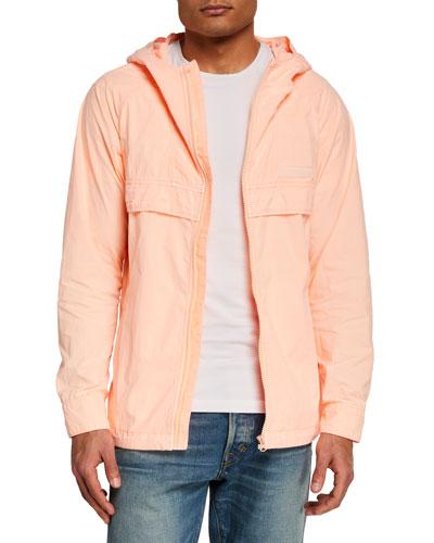 Men's Lightweight Garment-Dyed Nylon Jacket