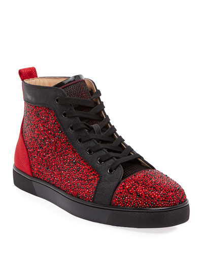 Men's Louis Orlato Embellished High-Top Sneakers