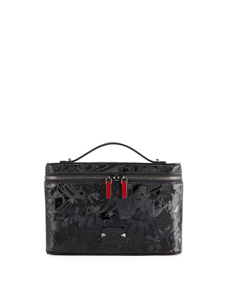 Christian Louboutin Men's Kypipouch Superloubi Fabric Top-Handle Pouch