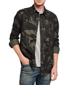 G-Star Men's Scutar Camo Sport Shirt
