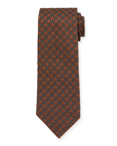TOM FORD Two-Tone Houndstooth Tie