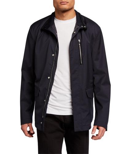 Men's Water-Repellant Wool Field Jacket