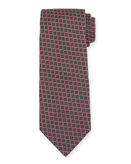 TOM FORD Small-Box Tie, Pink