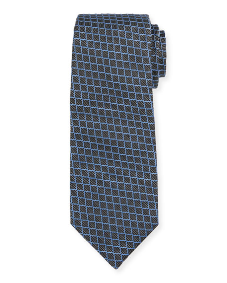 TOM FORD Small-Box Tie, Blue