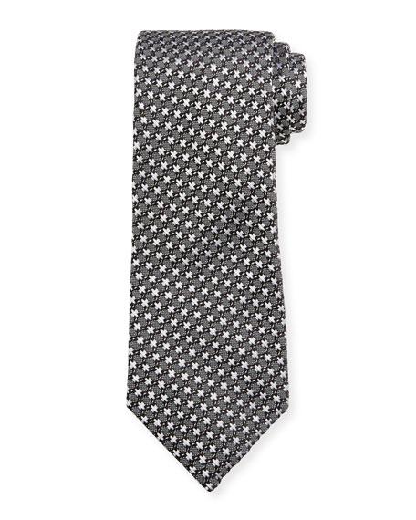 TOM FORD Men's X-Patterned Silk Tie
