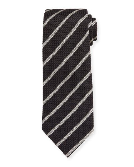 TOM FORD Small Stripe Silk Tie