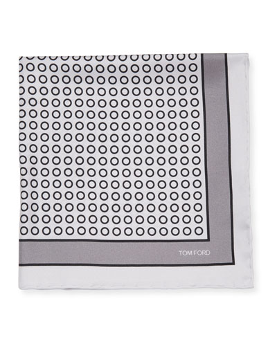 Men's Small Dot Pocket Square