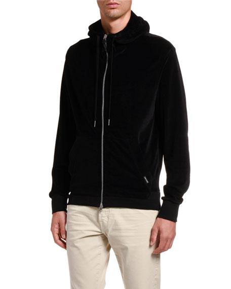 TOM FORD Men's Solid Hooded Blouson Jacket