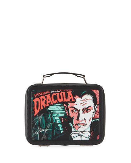 Moschino Men's x Universal Studios Dracula Lunch Box Shoulder Bag