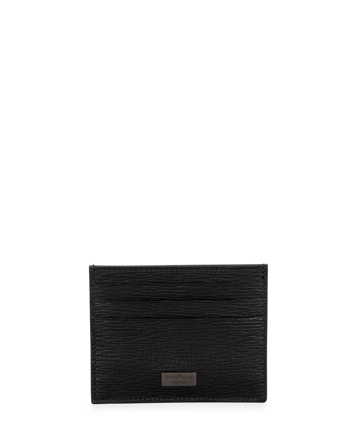 Men's Revival Textured Leather Card Case