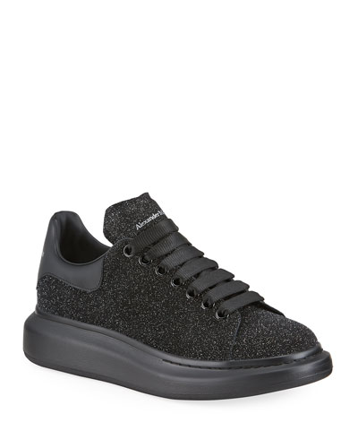 Men's Larry Tonal Glitter Leather Sneakers
