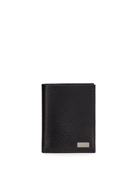 Salvatore Ferragamo Men's Revival Textured Leather Wallet