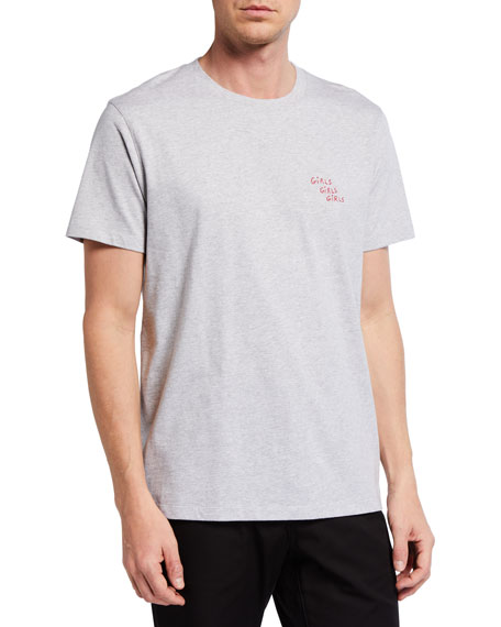 Maison Labiche Men's Heavy T-Shirt -  Girls Girls Girls