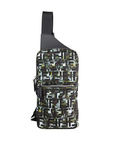 Men's FF Camo Sling Backpack