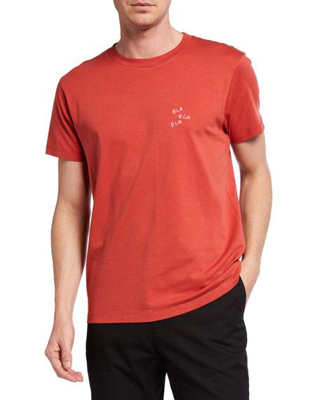 Maison Labiche Men's Heavy T-Shirt -  Bla Bla Bla