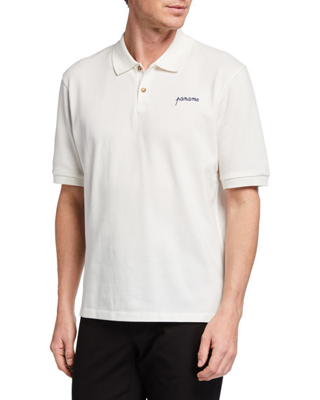Maison Labiche Men's Tennis Polo Shirt - Paname