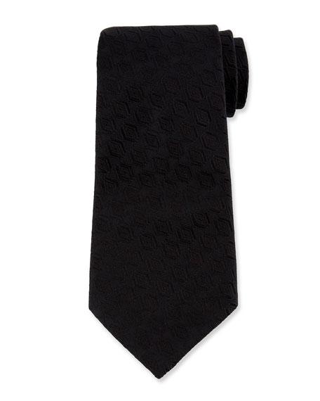 Ermenegildo Zegna Men's Tonal Diamond Silk Tie