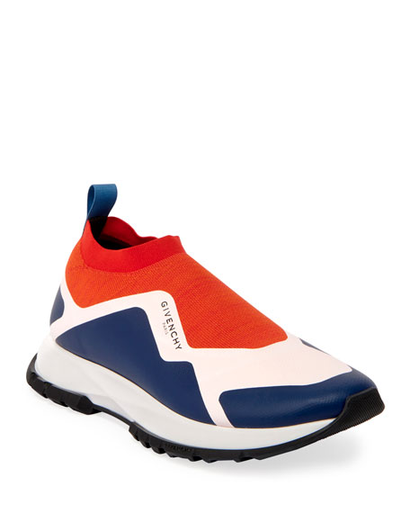 Givenchy Men's Spectre Tricolor Sock Runner Sneakers