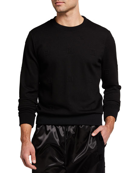 Fendi Men's FF Embossed Sweatshirt