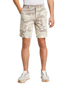 Joe's Jeans Men's Camo Sateen Trouser Shorts