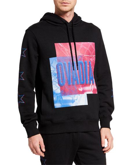 Ovadia Men's NBA Hoops Graphic Hoodie Sweatshirt