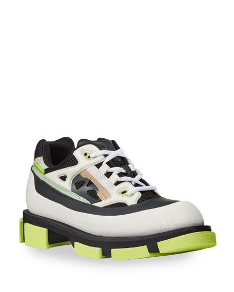 Both Men's Gao Mixed-Media Chunky Runner Sneakers