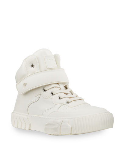 Men's Pop Air Tonal High-Top Canvas Sneaker